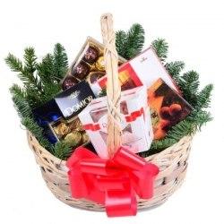 """Подарочная коpзина """"Merry christmas"""""""