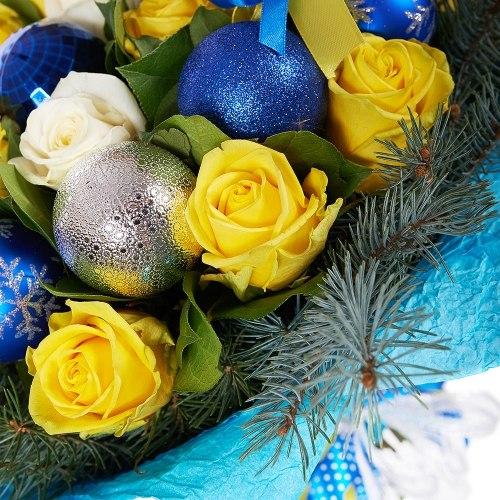 """Новогодний букет """"Украинская зима"""""""