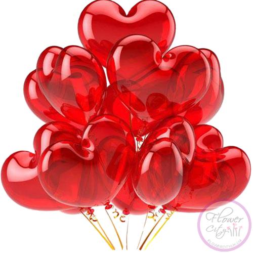 15 Шариков Сердцем