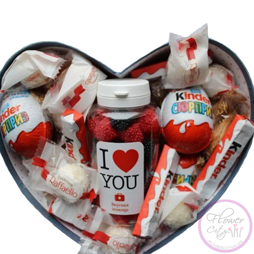 "Подарочная коробка ""I LOVE YOU"""