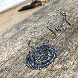 """Ожерелье с подвеской """"Геометрия"""" на цепочке, металл, серебряный цвет"""