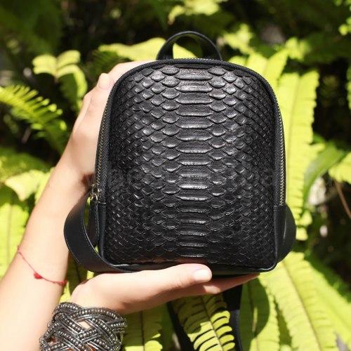 Рюкзачок маленький ANNA черный