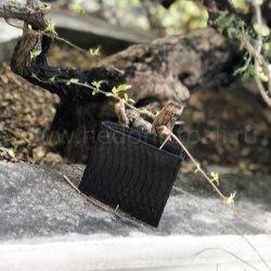Кошелек-портмоне мужской черный