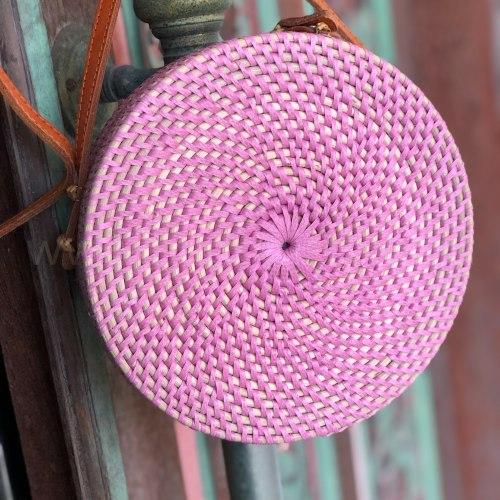 Сумка плетеная ROSE