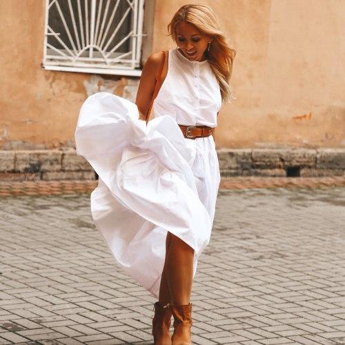 Платье SAMANTHA белое
