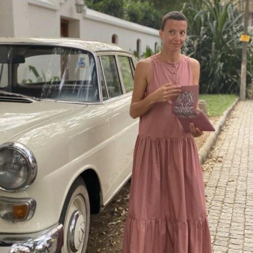 Платье SAMANTHA розовое