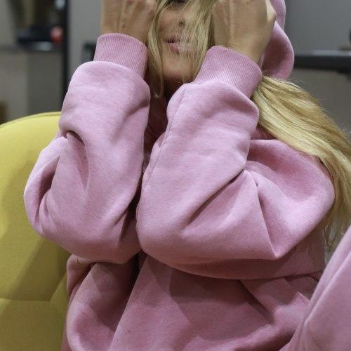 Спортивный костюм розовый FREEDOM утепленный