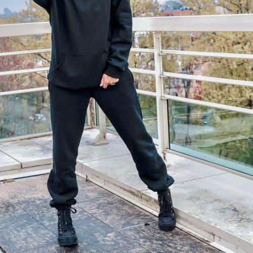 Спортивный костюм OPTIMIST черный утепленный