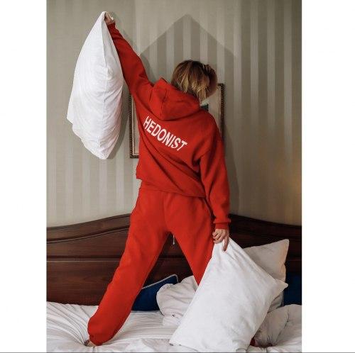 Спортивный костюм красный HEDONIST