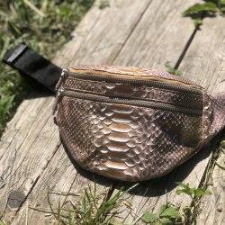 Поясная сумка TERESA бронзовая