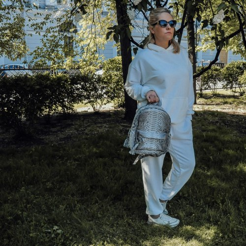 Спортивный костюм молочно-белый HEDONIST