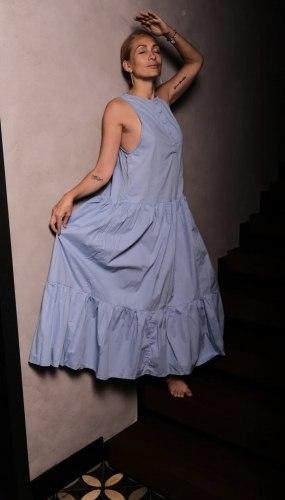 Платье SAMANTHA голубое