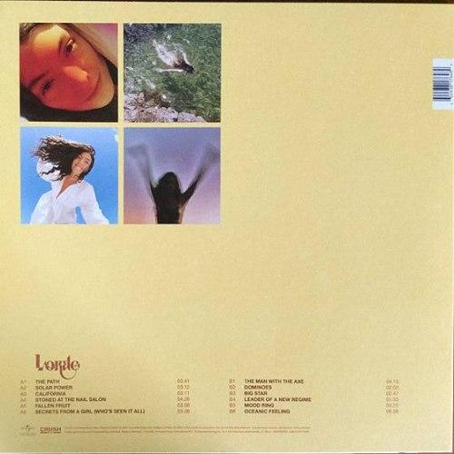 Виниловая пластинка LORDE - SOLAR POWER