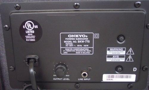 Активный сабвуфер Onkyo SKW-770 Black