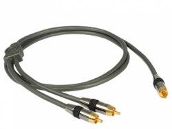 Сабвуферный кабель Goldkabel Profi Subwoofer от 1 м. до 20 м.