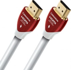 HDMI кабель AudioQuest HDMI Cinnamon PVC white 5-20m.