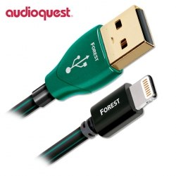 Кабель AudioQuest Forest, Lightning-USB 0.75-1.5m.