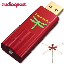 ЦАП AudioQuest DragonFly 1.5 red