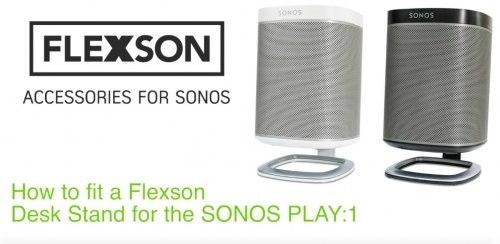Настольная подставка SONOS Flexson Desk Stand for SONOS PLAY:1