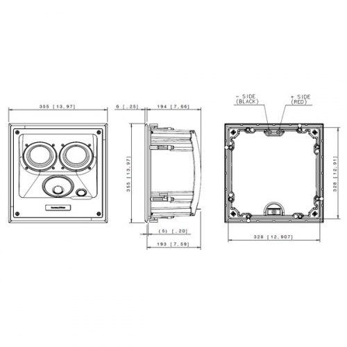 Акустическая система B&W CCM 7.3