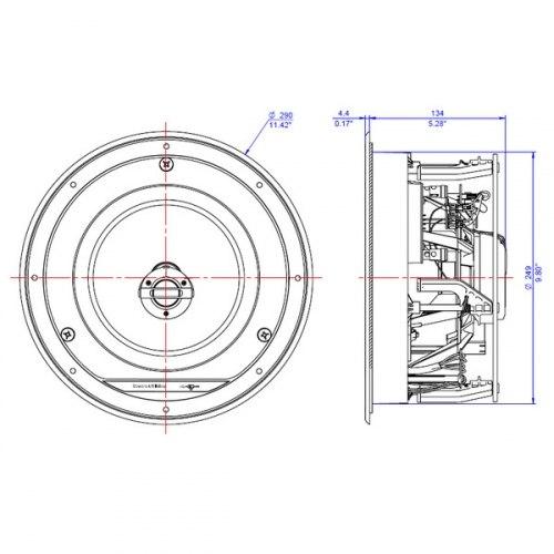 Акустическая система B&W CCM 682