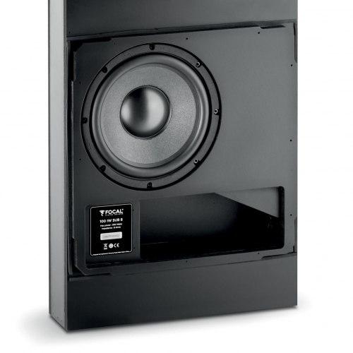 Встраиваемый сабвуфер и усилитель (комплект) Focal 100 IW SUB 8 + 100 IW SUB 8 Amp
