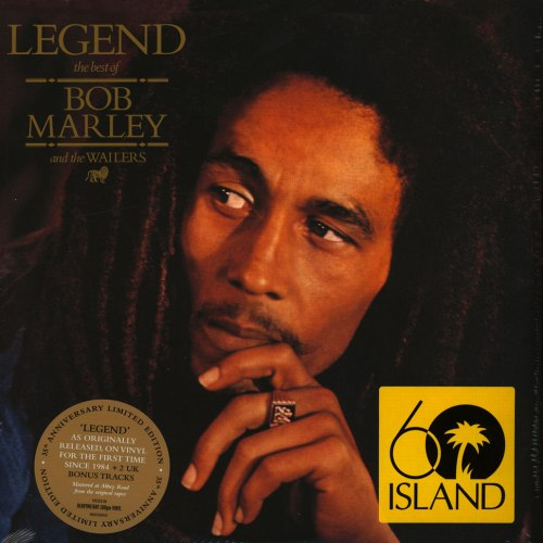 Виниловая пластинка BOB MARLEY - LEGEND (2 LP, 35 ANNIVERSARY)