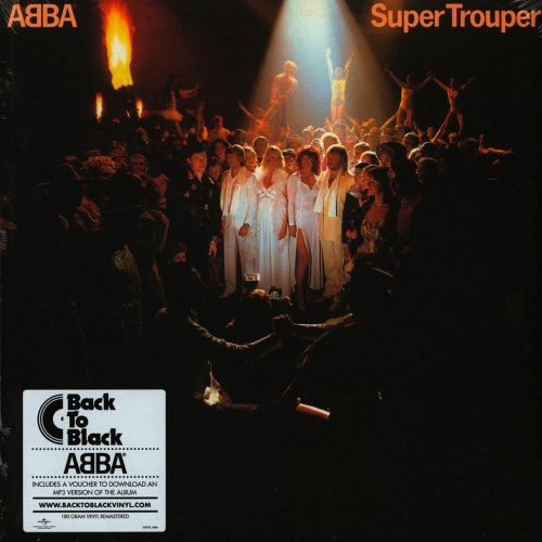 Виниловая пластинка ABBA - SUPER TROUPER (180 GR)