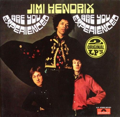 Виниловая пластинка JIMI HENDRIX EXPERIENCE - ARE YOU EXPERIENCED (2 LP)