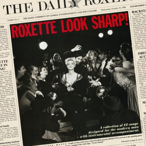 Виниловая пластинка ROXETTE - LOOK SHARP! (30TH ANNIVERSARY) (COLOUR)