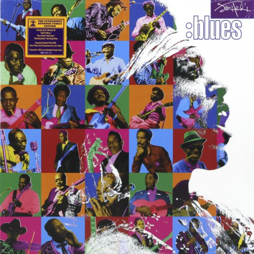 Виниловая пластинка JIMI HENDRIX - BLUES (2 LP, 180 GR)