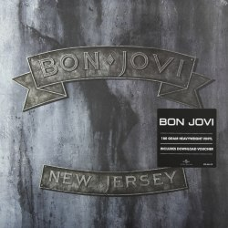 Виниловая пластинка BON JOVI - NEW JERSEY (2 LP, 180 GR)