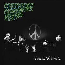 Виниловая пластинка CREEDENCE CLEARWATER REVIVAL - LIVE AT WOODSTOCK (2 LP)