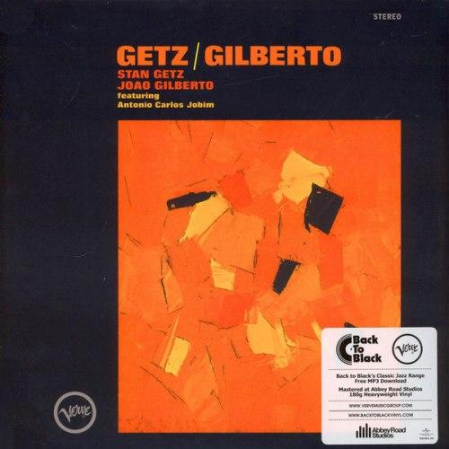 Виниловая пластинка STAN GETZ AND JOAO GILBERTO-GETZ/GILBERTO (180 GR)
