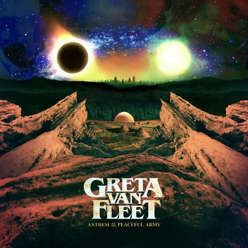 Виниловая пластинка GRETA VAN FLEET - ANTHEM OF THE PEACEFUL ARMY