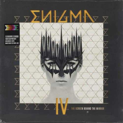 Виниловая пластинка ENIGMA - THE SCREEN BEHIND THE MIRROR (180 GR, COLOUR)