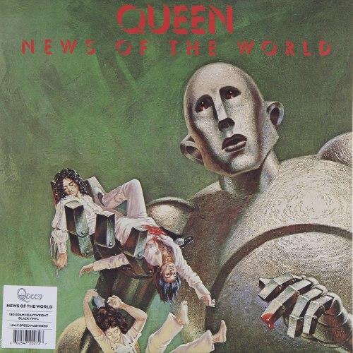 Виниловая пластинка QUEEN - NEWS OF THE WORLD (180 GR)