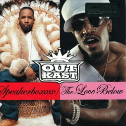 Виниловая пластинка OUTKAST - SPEAKERBOX / THE LOVE BELOW (4 LP)