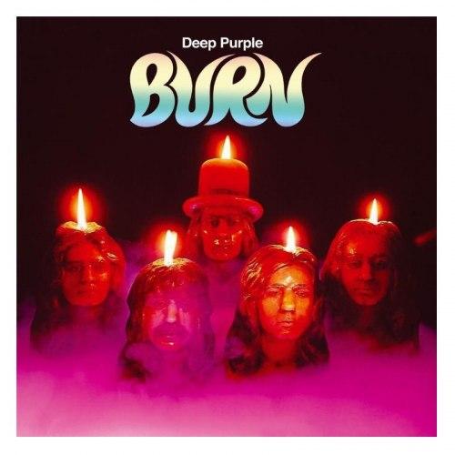Виниловая пластинка DEEP PURPLE - BURN (COLOUR)