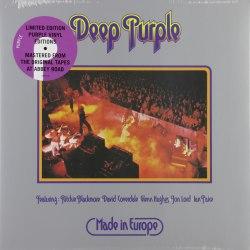 Виниловая пластинка DEEP PURPLE - MADE IN EUROPE (COLOUR)