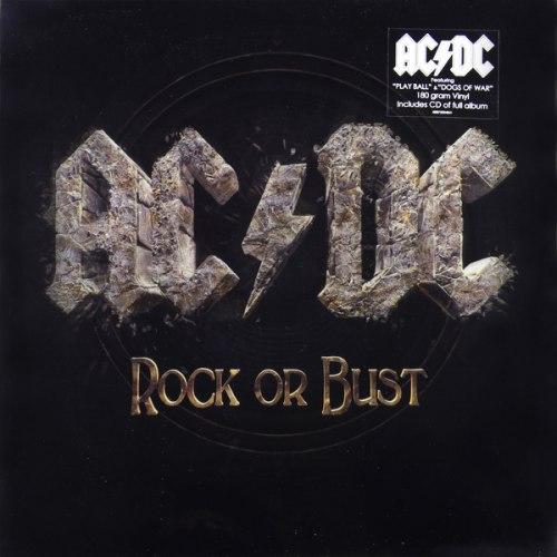 Виниловая пластинка AC/DC - ROCK OR BUST (LP+CD, 3D COVER)