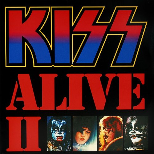 Виниловая пластинка KISS - ALIVE II (2 LP)