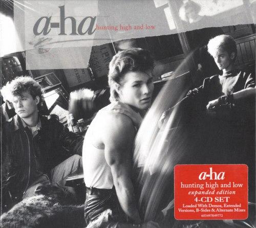 Виниловая пластинка A-HA - HUNTING HIGH AND LOW (COLOUR)