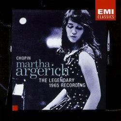 Виниловая пластинка ARGERICH, MARTHA/CHOPIN - THE LEGENDARY 1965 RECO