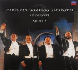 Виниловая пластинка PAVAROTTI, CARRERAS, DOMINGO - THE THREE TENORS