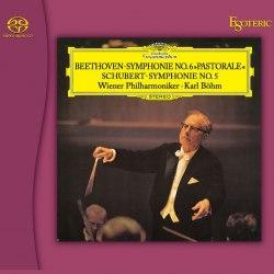 Гибридный CD/SACD диск Esoteric Ludwig van Beethoven - Symphony No. 6, Franz Schubert - Symphony No. 5 (cd/sacd)