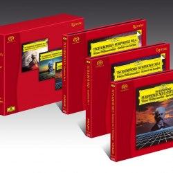 """Сет гибридных CD/SACD дисков Esoteric Pyotr Ilyich Tchaikovsky - Symphonies N0s.4,5 & 6""""Pathétique"""""""