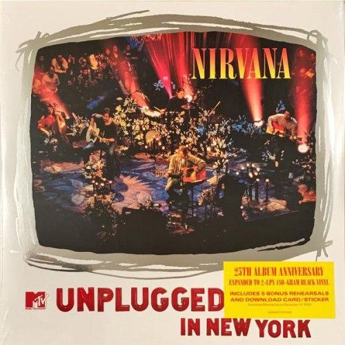 Виниловая пластинка NIRVANA - MTV UNPLUGGED IN NEW YORK (2 LP, 180 GR)