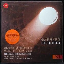 Виниловая пластинка NIKOLAUS HARNONCOURT - VERDI: REQUIEM (2 LP)