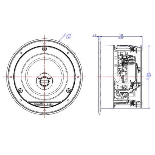 Акустическая система B&W CCM 663